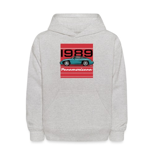 1989 P0r5che Panamericana Concept Car - Kids' Hoodie
