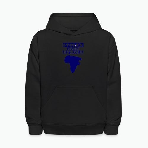STOLEN FROM AFRICA BLUE - Kids' Hoodie