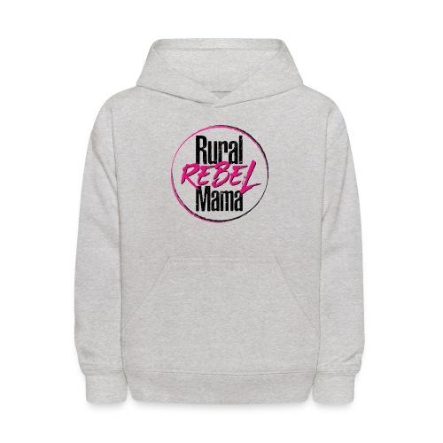 Rural Rebel Mama Logo - Kids' Hoodie