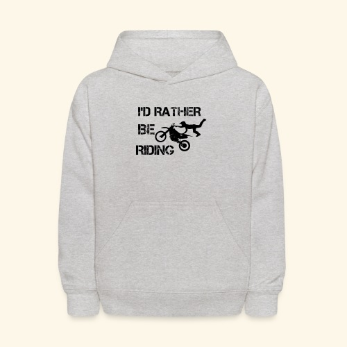 I'D RATHER BE RIDING merchandise - Kids' Hoodie