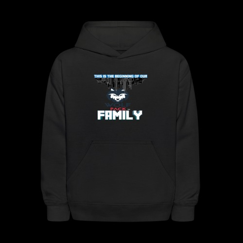 We Are Linked As One Big WolfPack Family - Kids' Hoodie