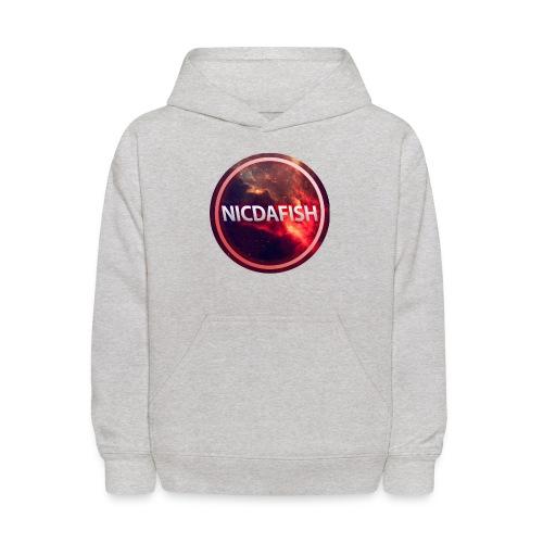 NicDaFish Logo - Kids' Hoodie