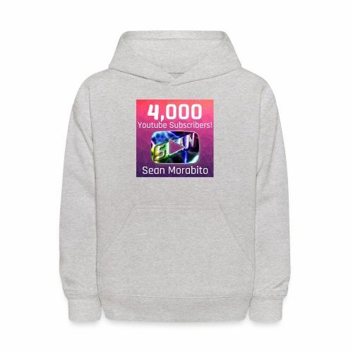 4000 Subs edited - Kids' Hoodie