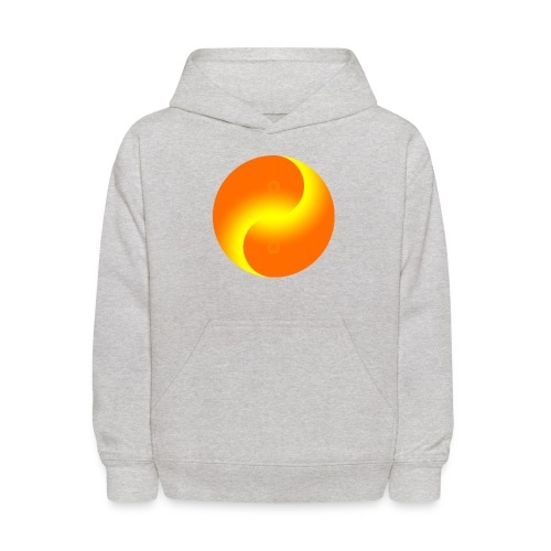 Yin Yang fire - Kids' Hoodie