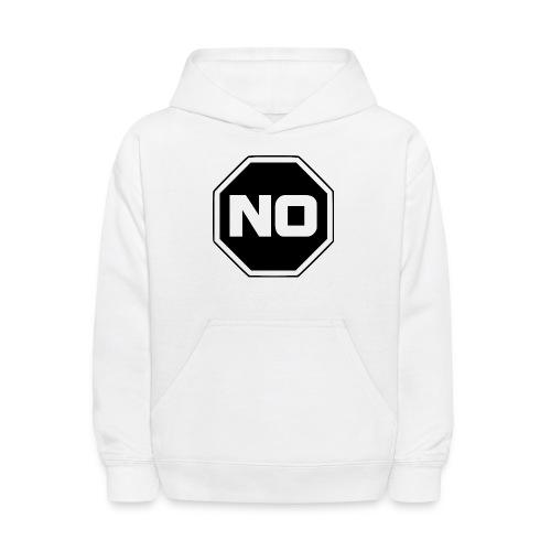 stopp say no - Kids' Hoodie