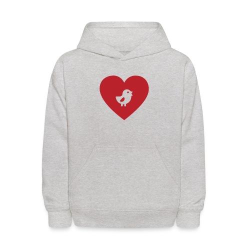 Heart Chick - Kids' Hoodie
