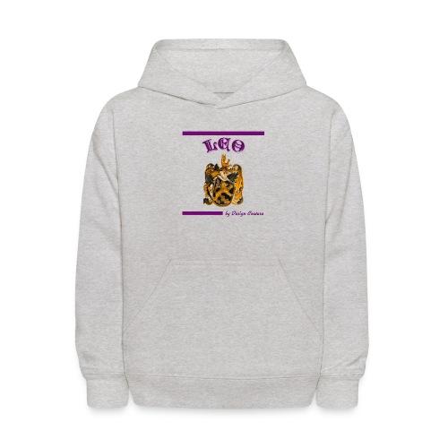 LEO PURPLE - Kids' Hoodie