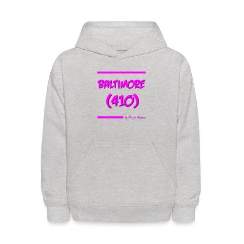 BALTIMORE 410 PINK - Kids' Hoodie
