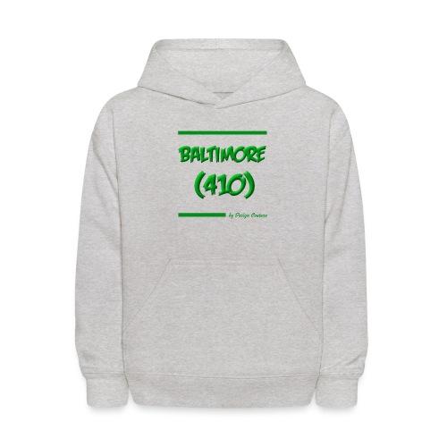 BALTIMORE 410 GREEN - Kids' Hoodie