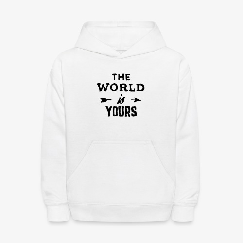 the world - Kids' Hoodie