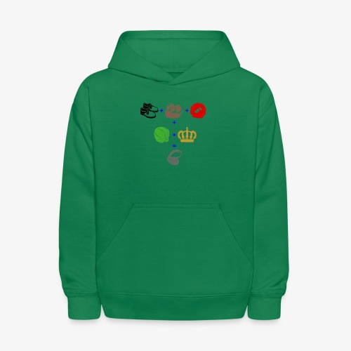 walrus and the carpenter - Kids' Hoodie