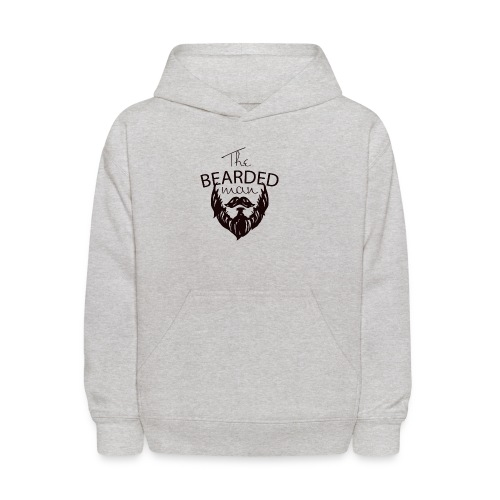 The bearded man - Kids' Hoodie