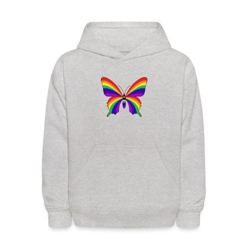 Rainbow Butterfly - Kids' Hoodie