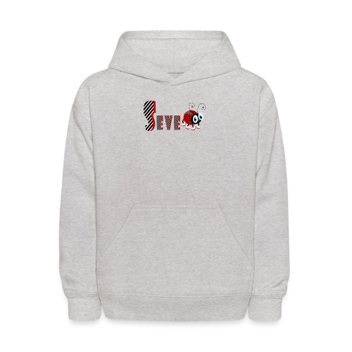 7nd Year Family Ladybug T-Shirts Gifts Daughter - Kids' Hoodie