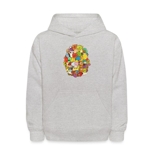 Doodle for a poodle - Kids' Hoodie