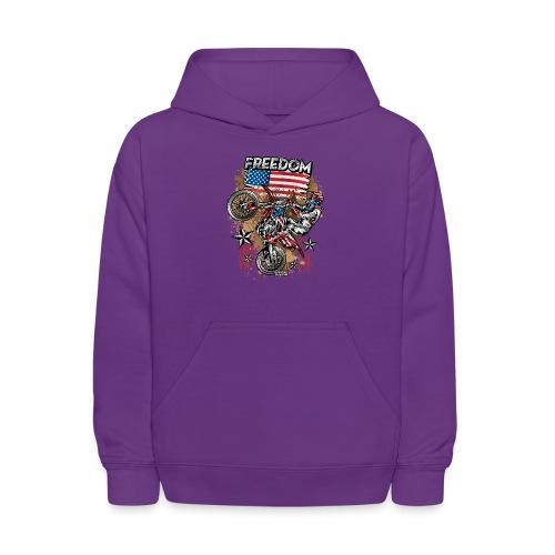 Motocross USA - Kids' Hoodie