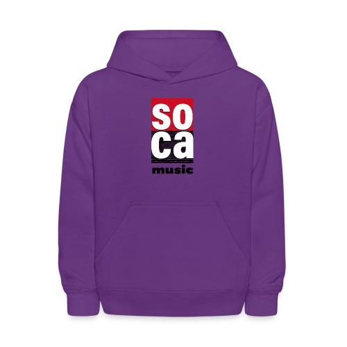 Soca music - Kids' Hoodie