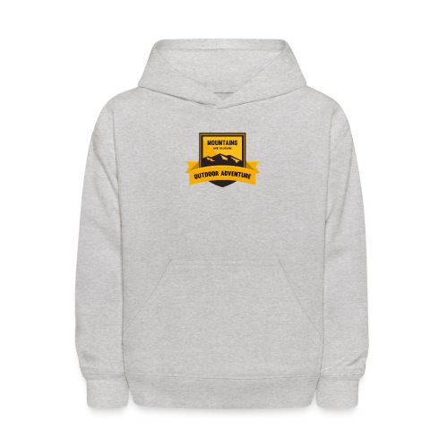 Mountains Dare to explore T-shirt - Kids' Hoodie