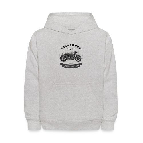 Born to ride Vintage Race T-shirt - Kids' Hoodie