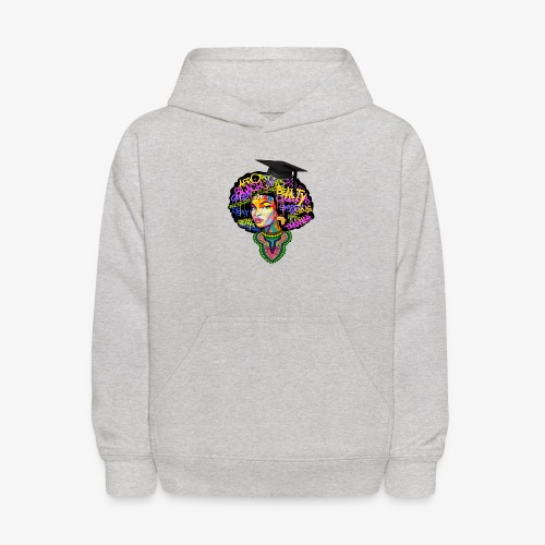 Graduation Melanin Queen Shirt Gift - Kids' Hoodie