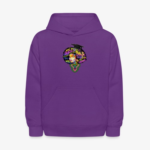 Graduation Melanin Queen Shirt Gift - Kids' Hoodie
