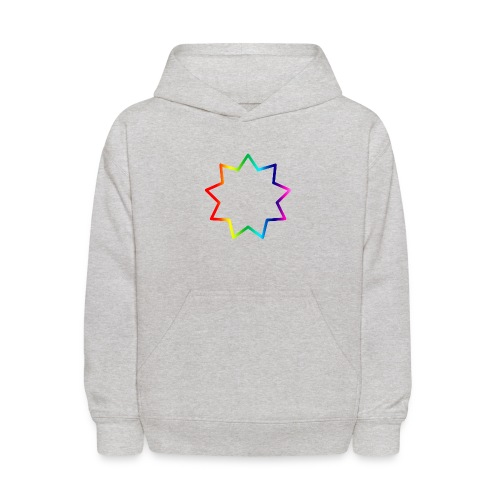 Baha´i rainbow - Kids' Hoodie