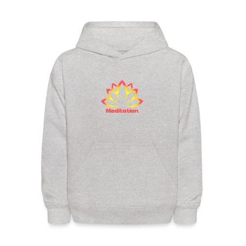 Lotus meditation - Kids' Hoodie