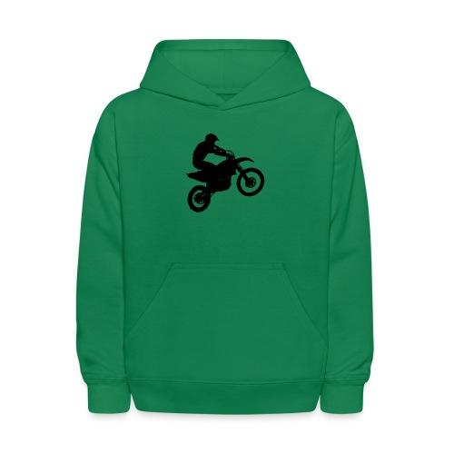 Motocross Dirt biker - Kids' Hoodie
