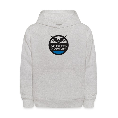scoutsforequality bluelogo - Kids' Hoodie