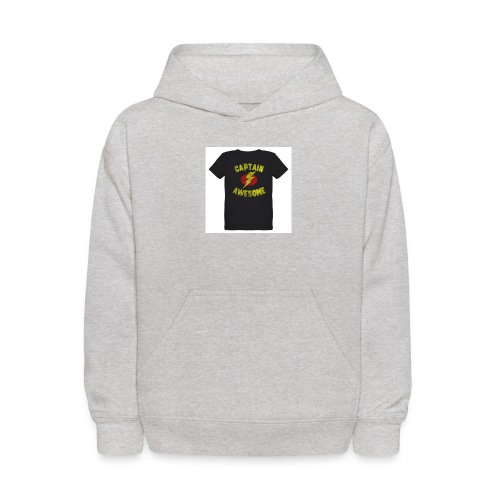 Captain awesome - Kids' Hoodie