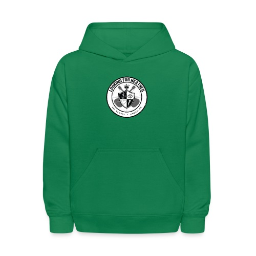 Looking For Heather - Crest Logo - Kids' Hoodie