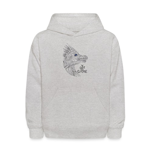 Blue eye dragon - Kids' Hoodie