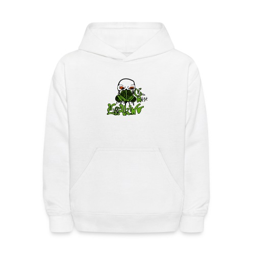 Leaking Gas Mask - Kids' Hoodie