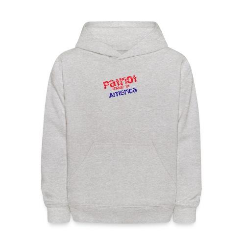 Patriot mug - Kids' Hoodie