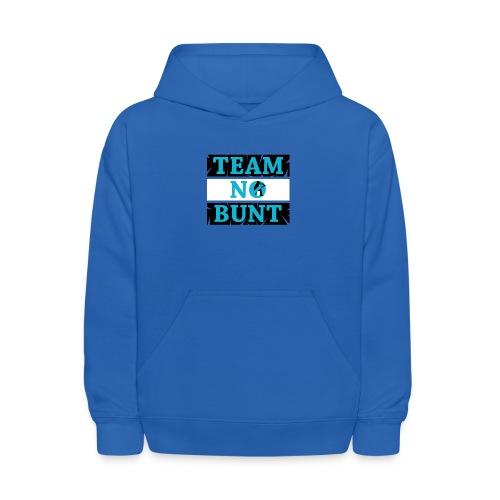 Team No Bunt - Kids' Hoodie