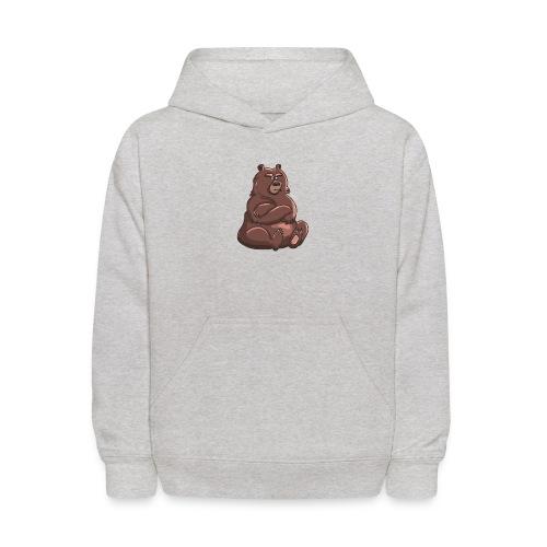 Bear in Contempt T-Shirt - Kids' Hoodie