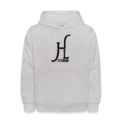HLF Vector Blk - Kids' Hoodie