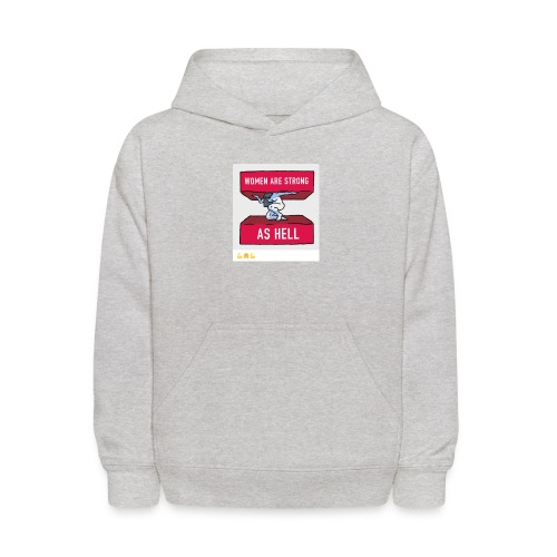 women are strong as hell - Kids' Hoodie
