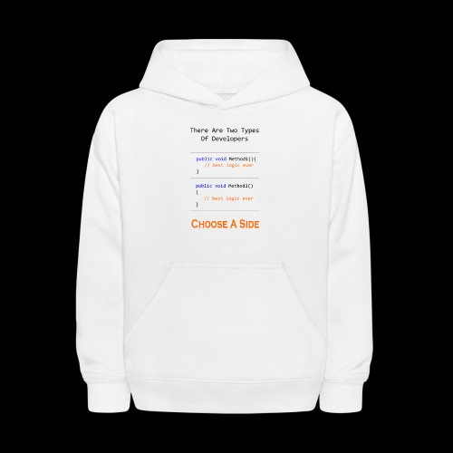 Code Styling Preference Shirt - Kids' Hoodie