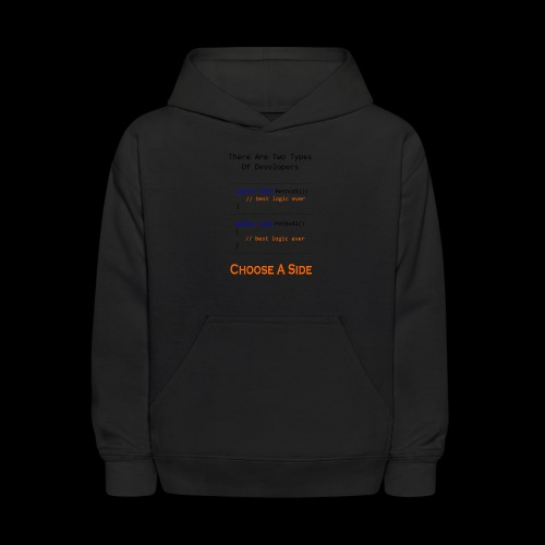 Code Styling Preference Shirt - Kids' Hoodie