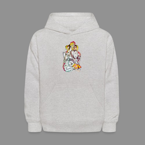 The Twisting of My Thought - Kids' Hoodie
