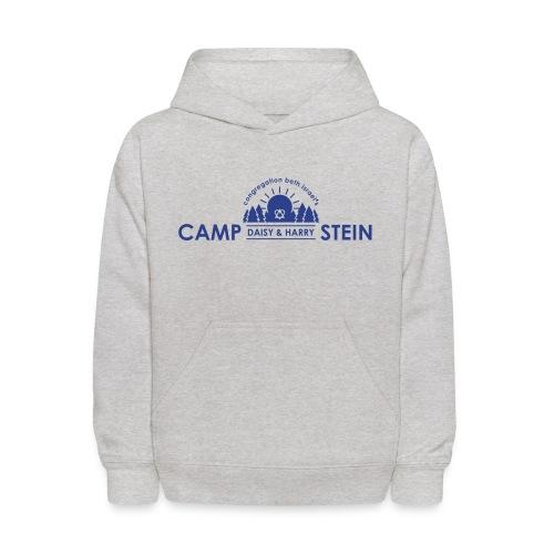 campstein_horiz_black - Kids' Hoodie
