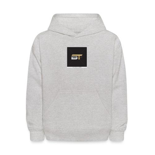 BT logo golden - Kids' Hoodie