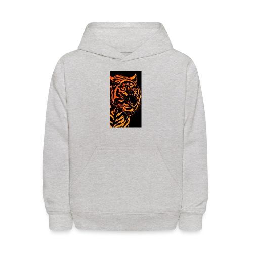 Fire tiger - Kids' Hoodie