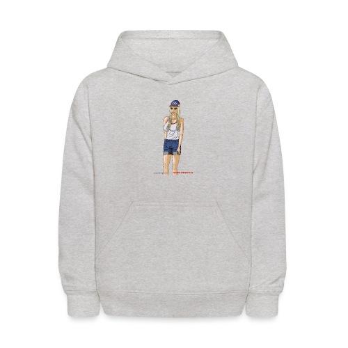 Gina Character Design - Kids' Hoodie