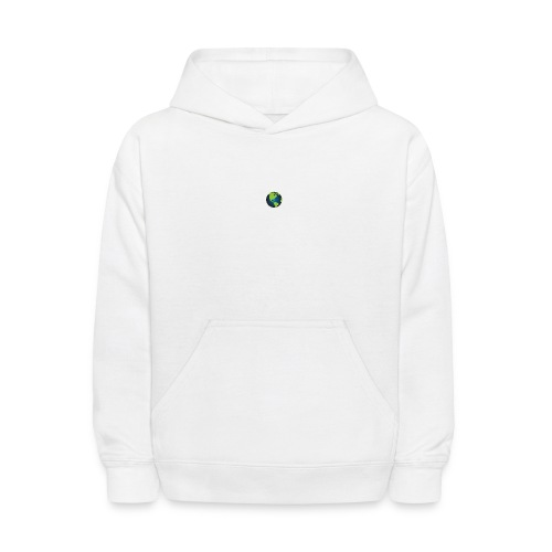 Self Sufficient Me Logo white small coy design - Kids' Hoodie