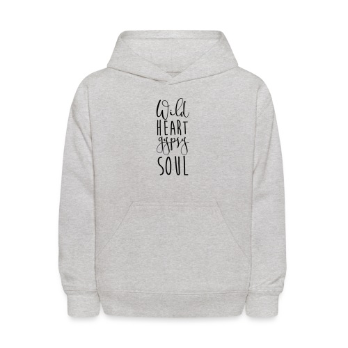 Cosmos 'Wild Heart Gypsy Sould' - Kids' Hoodie