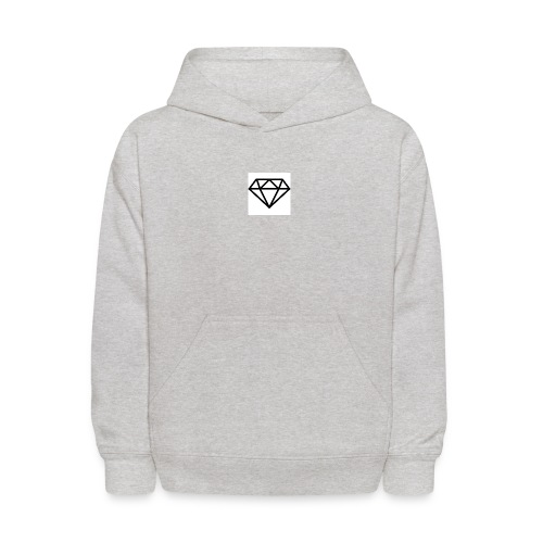 diamond outline 318 36534 - Kids' Hoodie