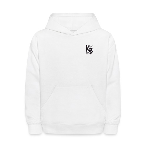 Kure Beach Sunrise-Black Lettering-Front and Back - Kids' Hoodie