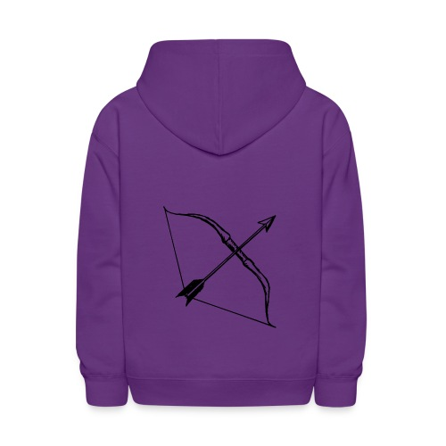 bow and arrow 3 - Kids' Hoodie